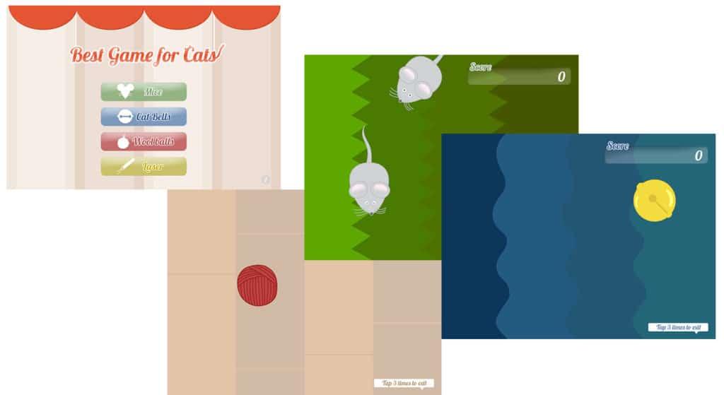 jeu chat ipad3