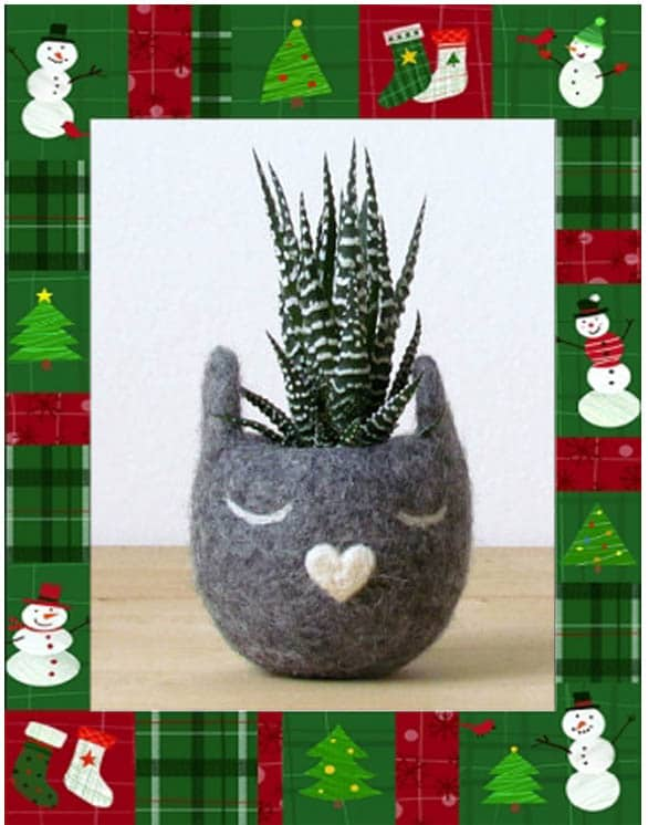 idées cadeaux noel-pot de fleur 2