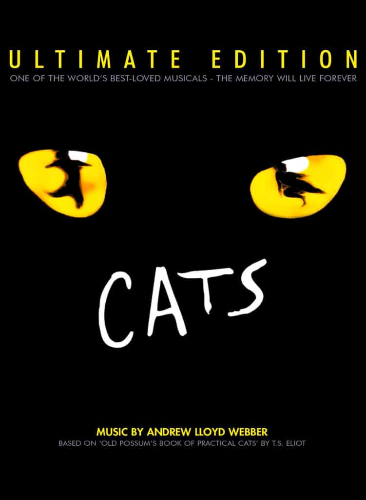 Affiche musical Cats