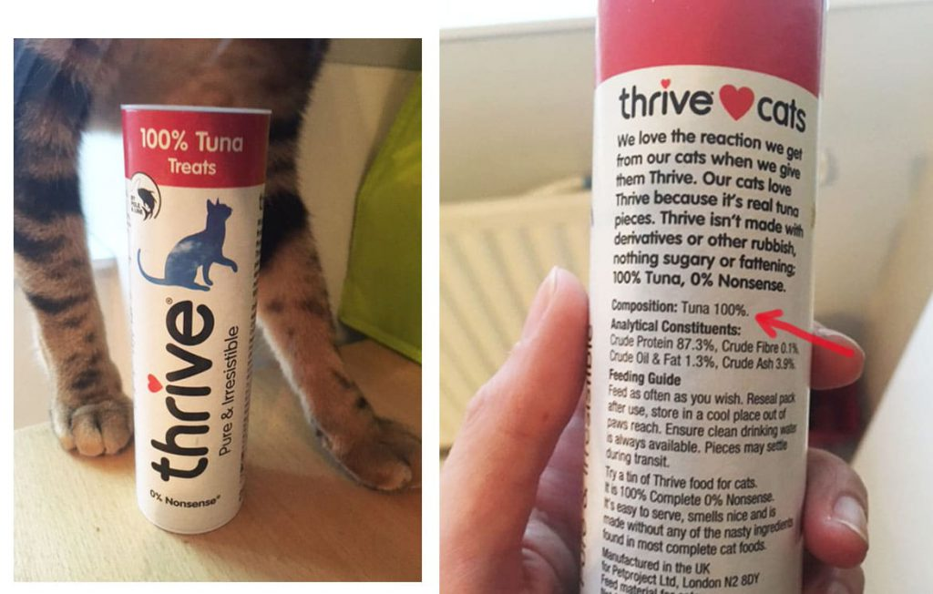 friandises pour chat Thrive