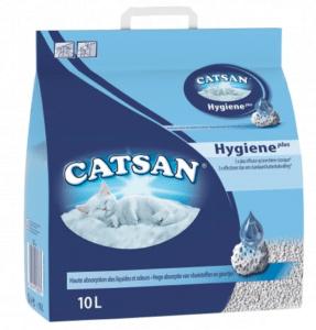 litiere minerale catsan