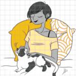 mon chat et moi, solar_ Djoina Amrani, Marion Ruffie_2