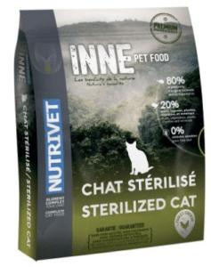 croquettes sans cereales nutrivet sterilized