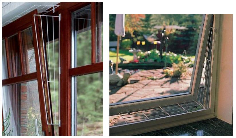 Prot ger fen tre balcon terrasse pour que mon chat ne - Grillage fenetre chat ...